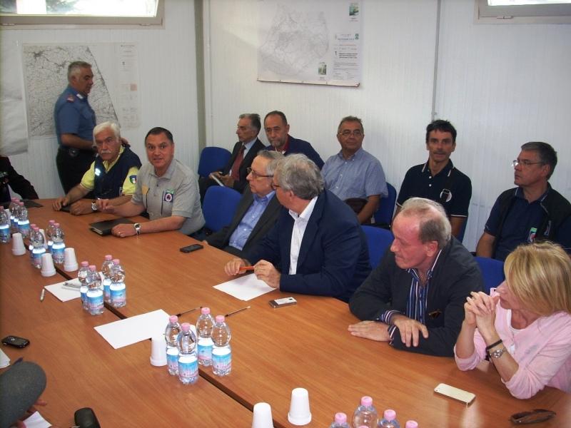Terremoto nel Conero, riunione a Loreto della Protezione civile regionale