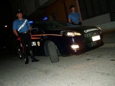 Sballato alla guida, fermato dai carabinieri
