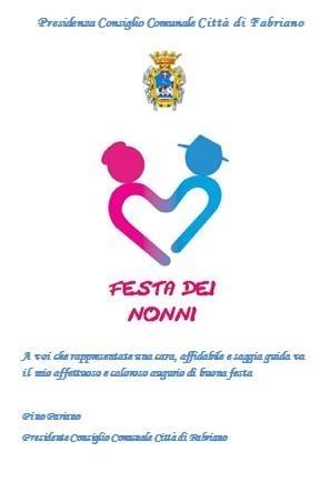 Festa dei nonni, il messaggio d'auguri del presidente del Consiglio comunale Pariano
