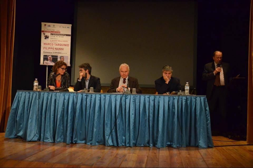 """""""Il dovere della verità"""", Marco Tarquinio e. Filippo Nanni chiudono la 2° edizione del Fgi"""