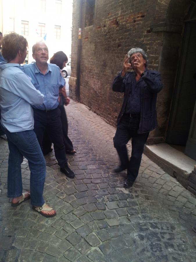 """Chiusura al traffico del centro storico per le riprese de """"Il giovane favoloso"""""""