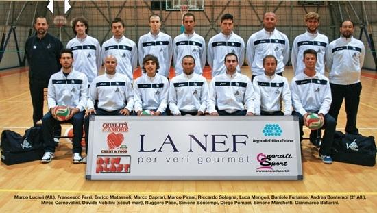 La Nef, esordio in campionato ad Agugliano
