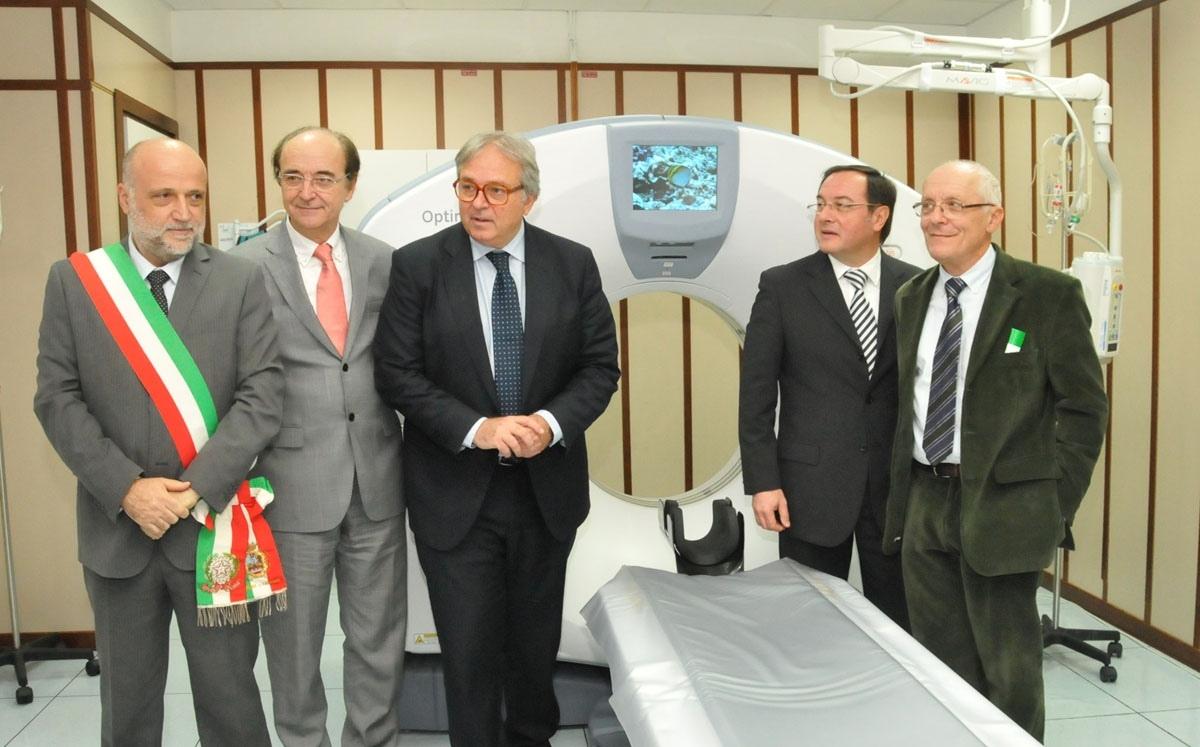 Inaugurazione del nuovo Pronto soccorso e della nuova Tac dell'Ospedale di Fabriano