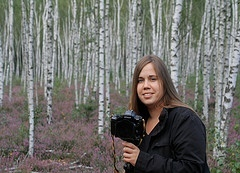 Arriva la fotografa naturalista Sandra Bartocha