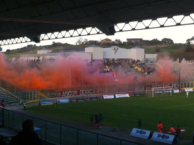Prima sconfitta stagionale per l'Ancona